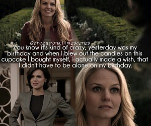 once upon a time, evil queen, and emma swan image