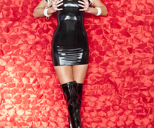 boots, fetish, and latex image