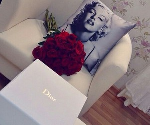 dior, flowers, and house image