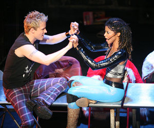 broadway, musical, and rent image