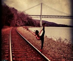 flexibility, flexible, and gymnast image