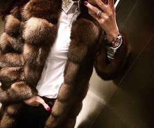 fashion, fur, and luxury image