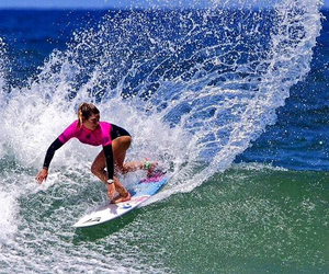Action, surf, and wave image