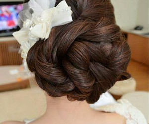 cheveux, flower, and gorgeous image