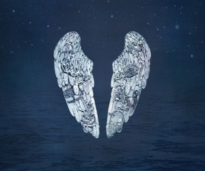 coldplay, music, and wings image