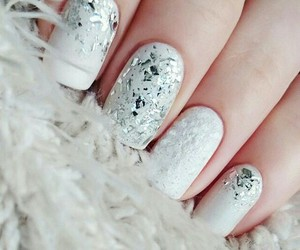 furry, nails, and art image