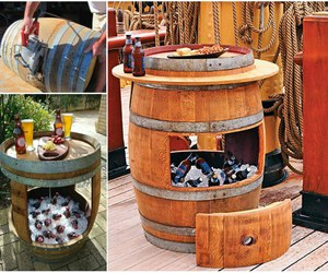 cooler, diy, and recycling image