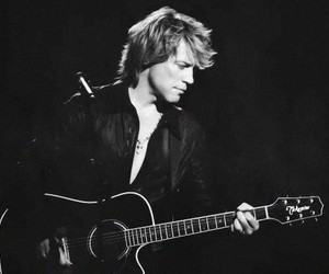 guitar and bon jovi image