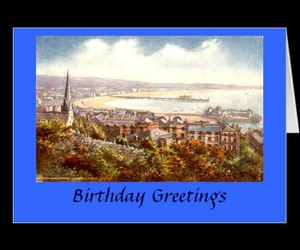 zazzle, old postcard, and greetings card image