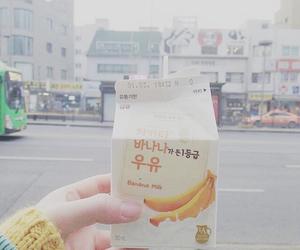 asia, banana, and korea image