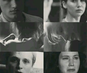 peeta mellark and katniss everdeen image