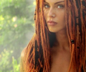dread, ginger, and model image
