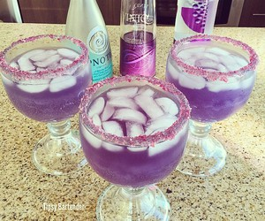 drink and purple image