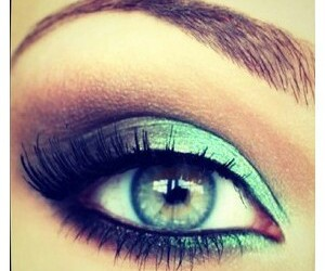 blue, love it, and eye image