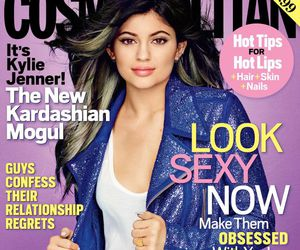 kylie jenner and cosmopolitan image