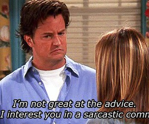 friends, chandler, and quotes image