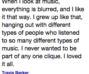 music, quotes, and travis barker image
