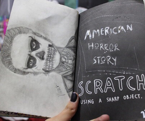 wreck this journal, ahs, and american horror story image