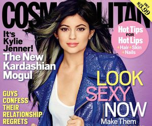 cosmo, cosmopolitan, and kylie jenner image