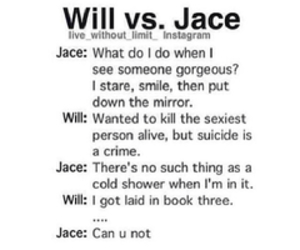 funny, jace, and tmi image
