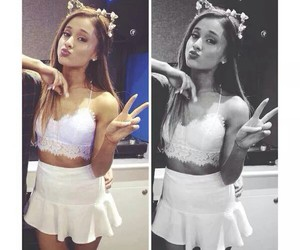 beautiful, woman, and arianagrande image