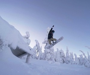 finland, freezing, and fun image