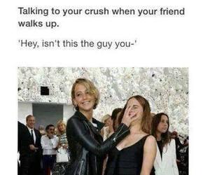 funny, crush, and Jennifer Lawrence image