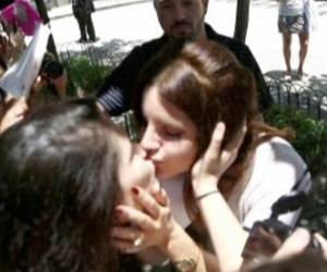 lana del rey, kiss, and fan image