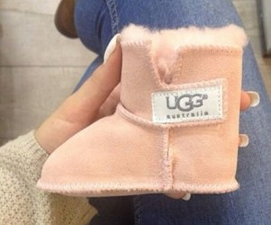 cute, baby, and ugg image