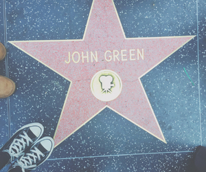 john green, stars, and book image
