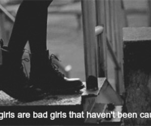 bad girls, good girls, and quote image