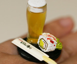 accessories, anime, and beer image