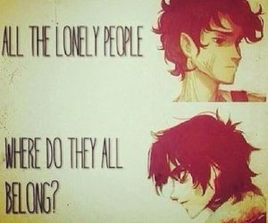 nico di angelo, Leo, and lonely image