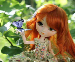 butterfly and pullips.pullip dolls.doll image
