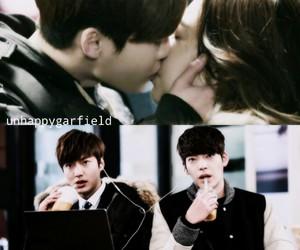 kiss, Korean Drama, and lee minho image