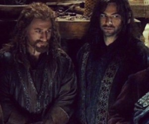 the hobbit, aidan turner, and fili image