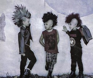 punk, kids, and boy image