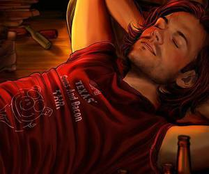 supernatural, sam winchester, and fanart image