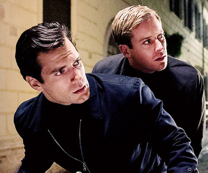 Henry Cavill, armie hammer, and the man from uncle image