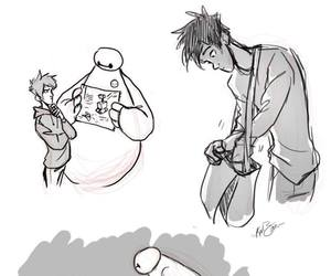 big hero 6, hiro hamada, and big hero six image