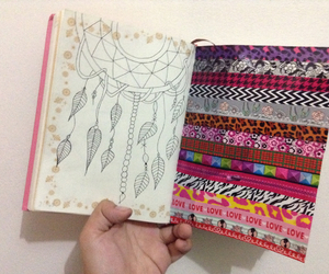 art, colorful, and diary image