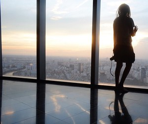 girl, city, and Dream image