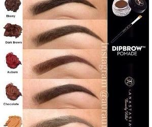 makeup and perfect eyebrows image