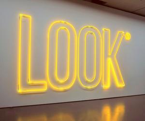 yellow, light, and neon image