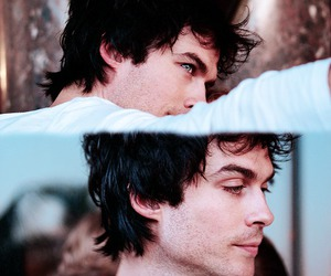 ian somerhalder, damon salvatore, and boy image