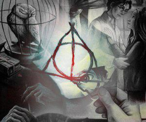 daniel radcliffe, harry potter, and magic image