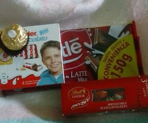 kinder, lindor, and cioccolata image