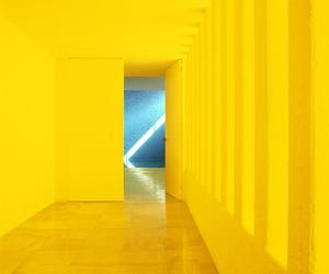 yellow, aesthetic, and architecture image