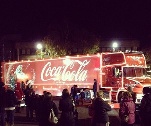 coca cola, christmas, and cute image