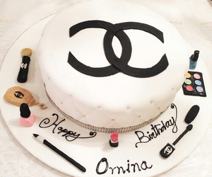 chanel and cake image